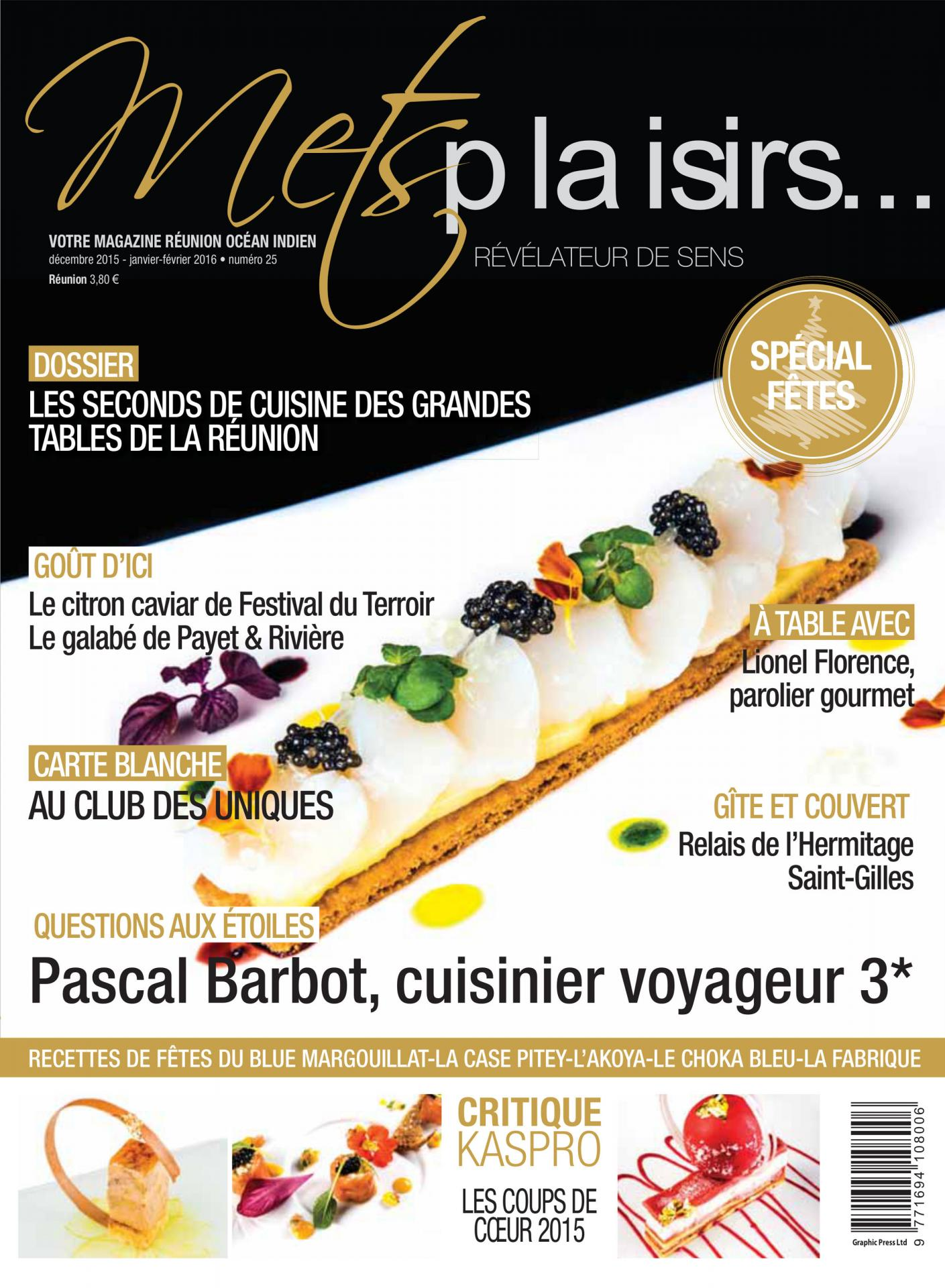 Couverture MetsPlaisirs n°25