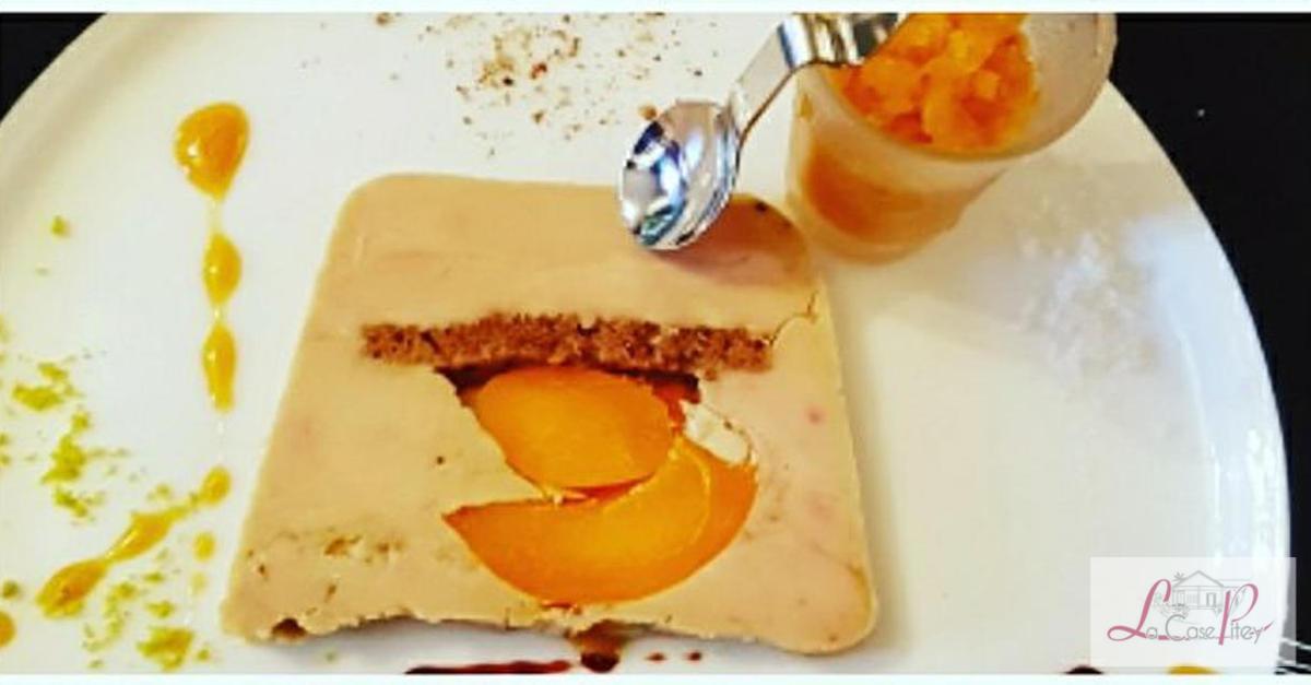 Marbre de foie gras de canard au pain d epices et aux abricots du roussillon